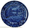Enoch Wood pearlware Staffordshire plate, Sur la Marne