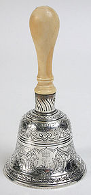 Wakelin and Taylor Georgian sterling silver table bell