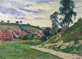 Maximilien Luce impressionist landscape painting