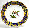 Minton dessert service, botanical with butterflies